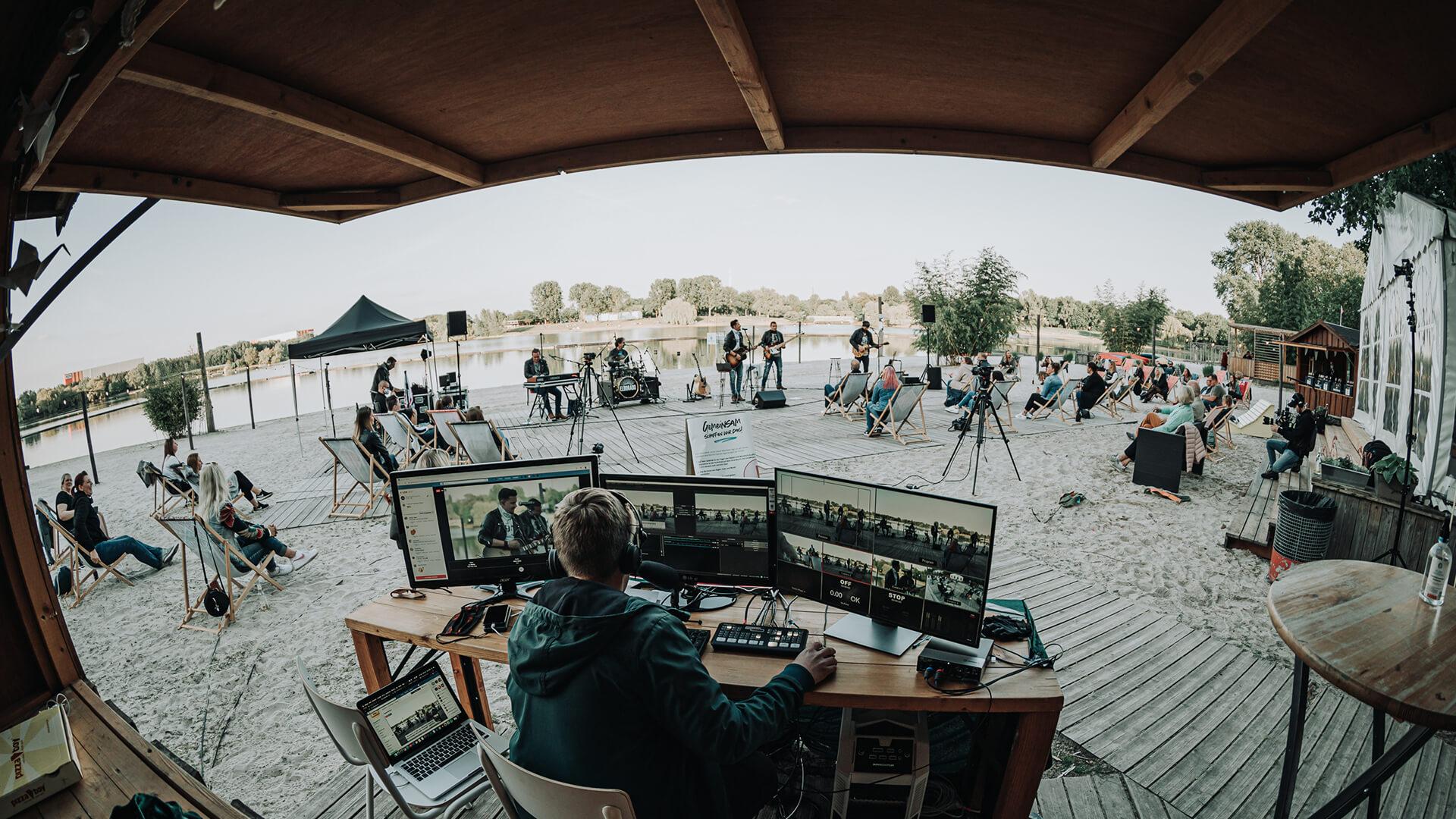 """Featured image for """"Livestream-Produktion mit der Kölschrock-Band Eldorado"""""""